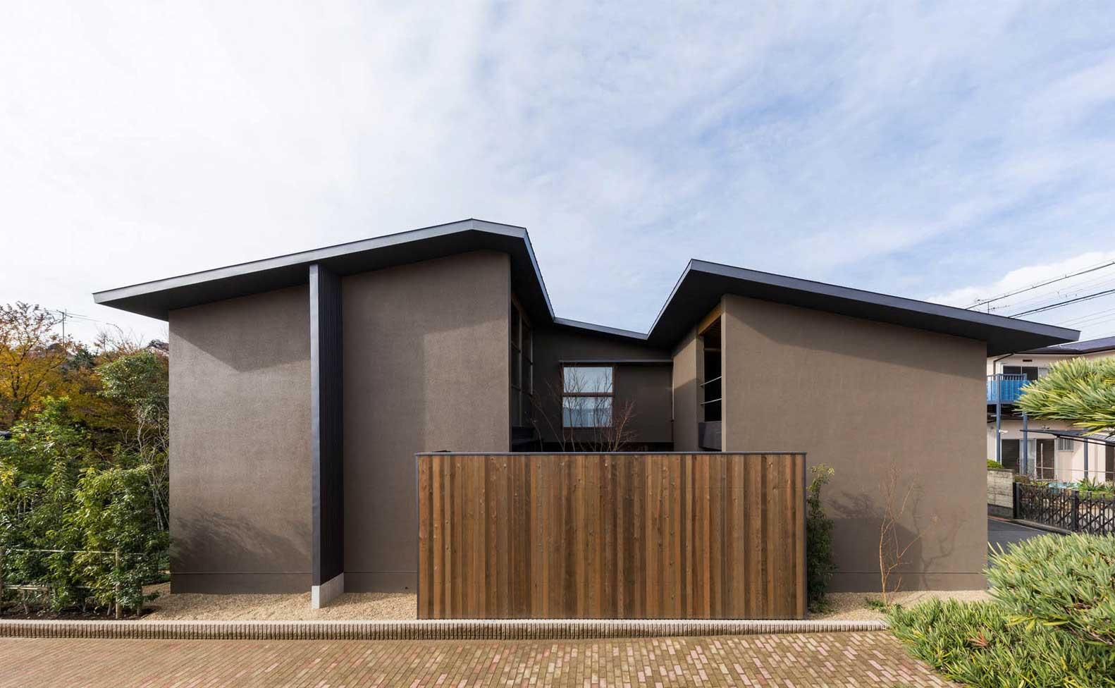 Где и зачем Строить Дом с Внутренним Садом — Японский проект из Осаки