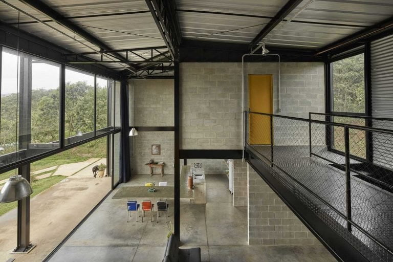 STEEL FRAME HOUSE FROM BRAZIL