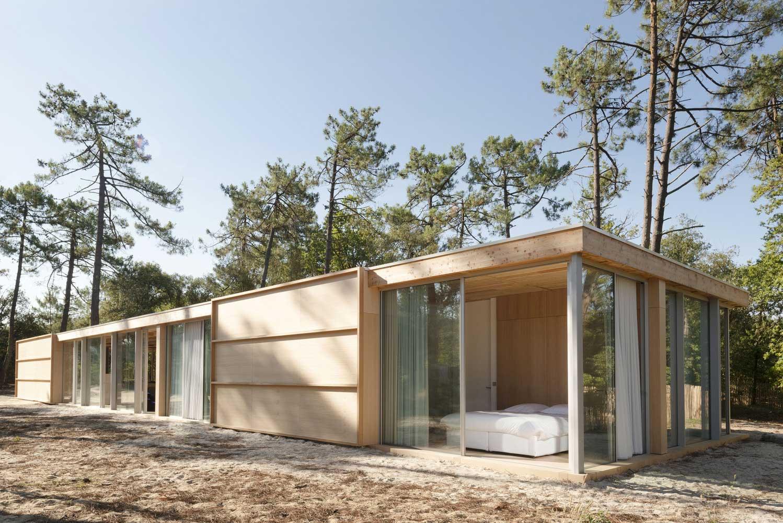 5 Идей, как построить Современные Красивые Дома из Дерева