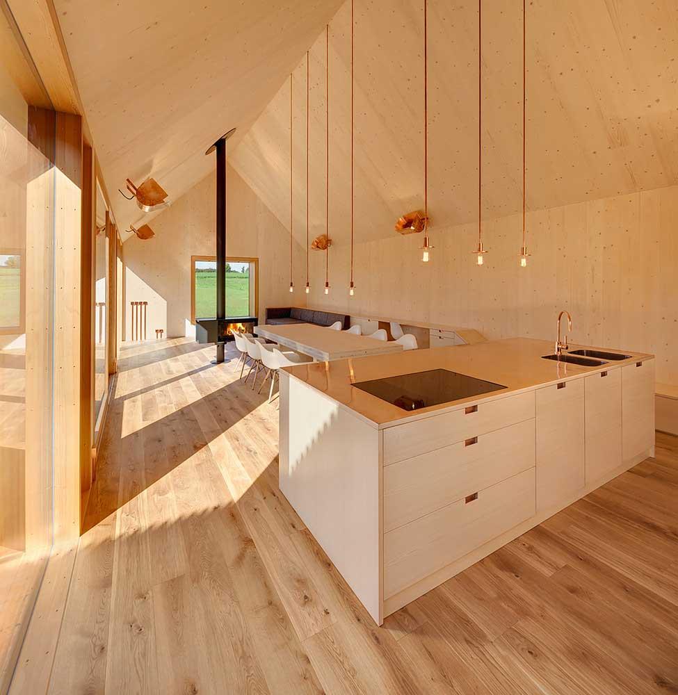 Одноэтажный Деревянный Дом Амбарного Типа из Германии / Timber House