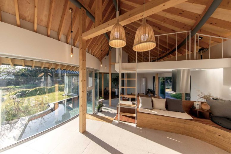 wooden ceiling design for house