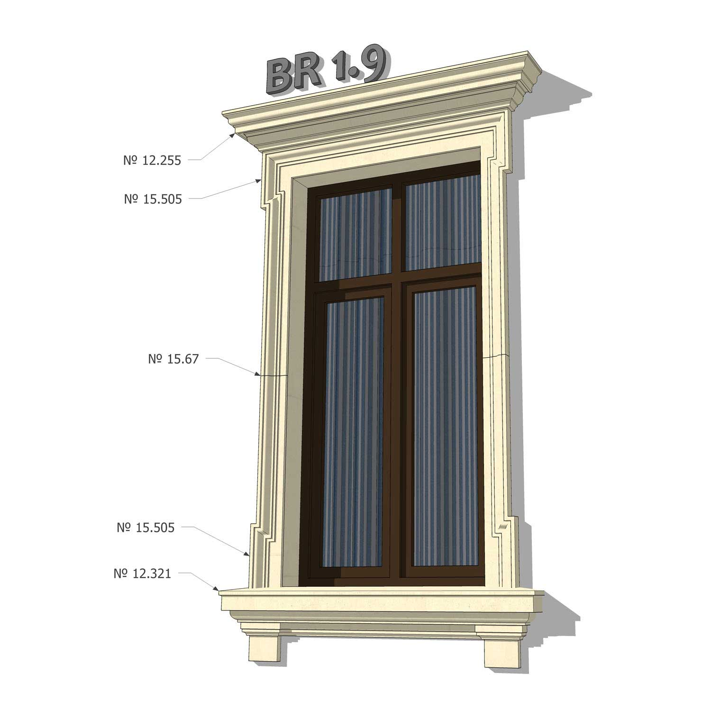 12+ Exterior Window Trim Kits • [ArtFacade]