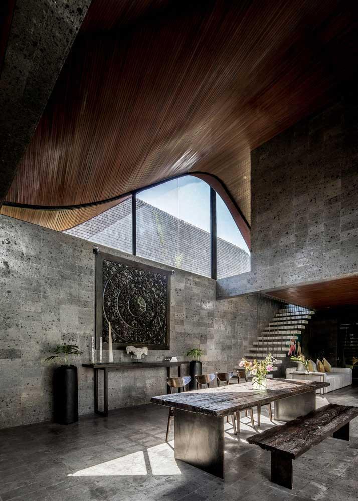 plafond bois moderne