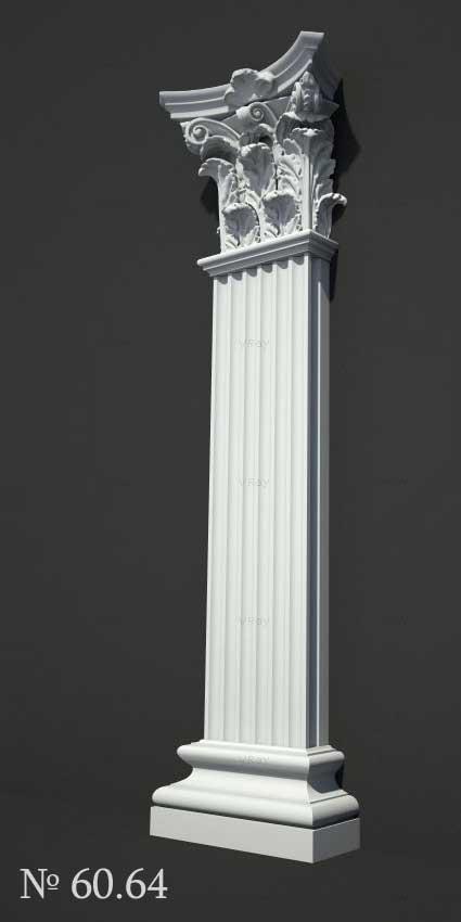 acheter des pilastres pour extérieur / façade / intérieur au meilleur prix chez le fabricant