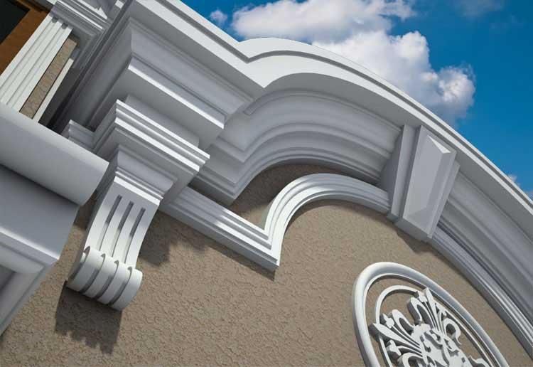 Die Schönheit des klassischen Wohnaußendesigns bis ins kleinste Detail