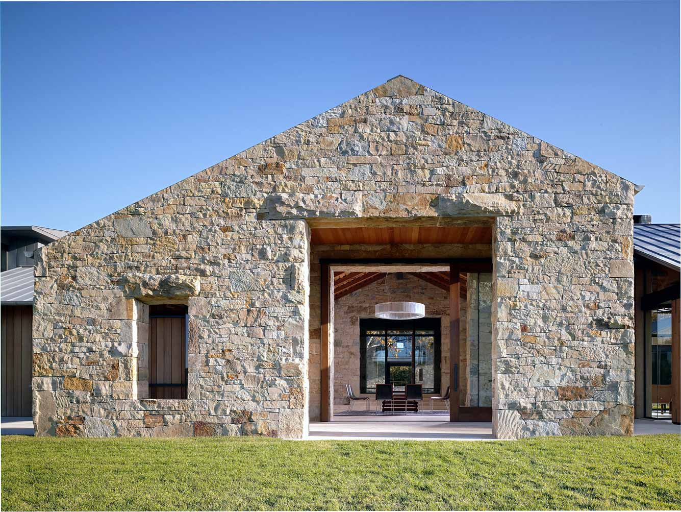 pierre exterieur facade