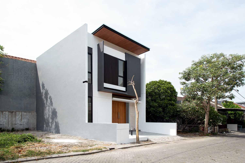 Ideias exteriores de casas em preto e branco