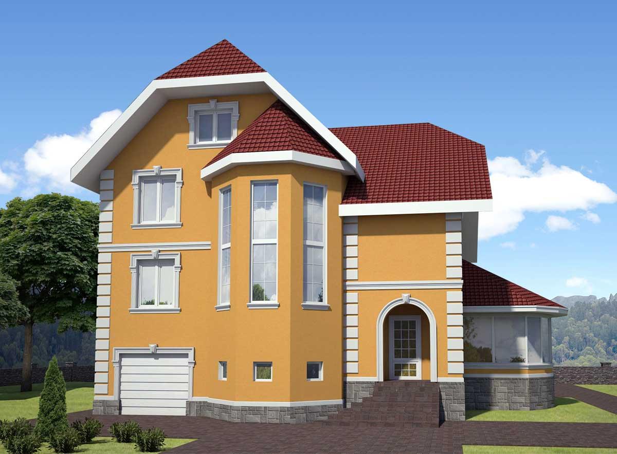 color amarillo para casa exterior