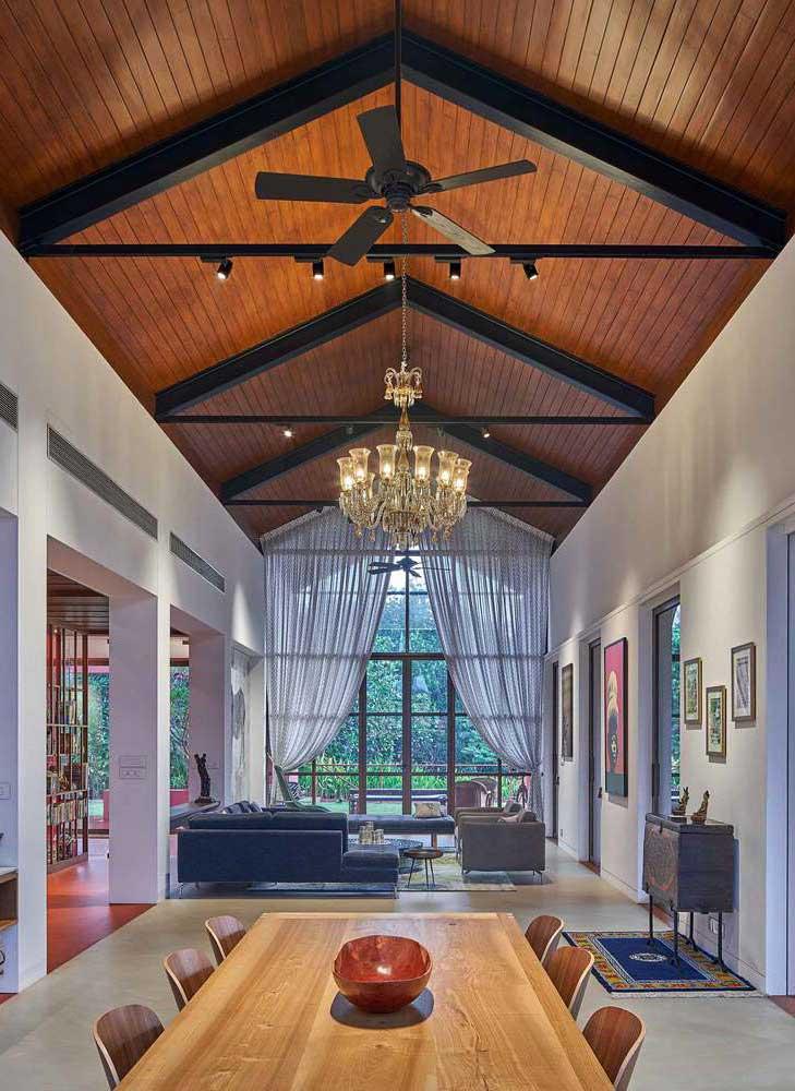 luminaire pour plafond haut