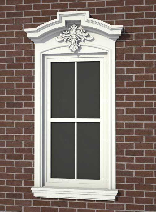 exterior window trim kits