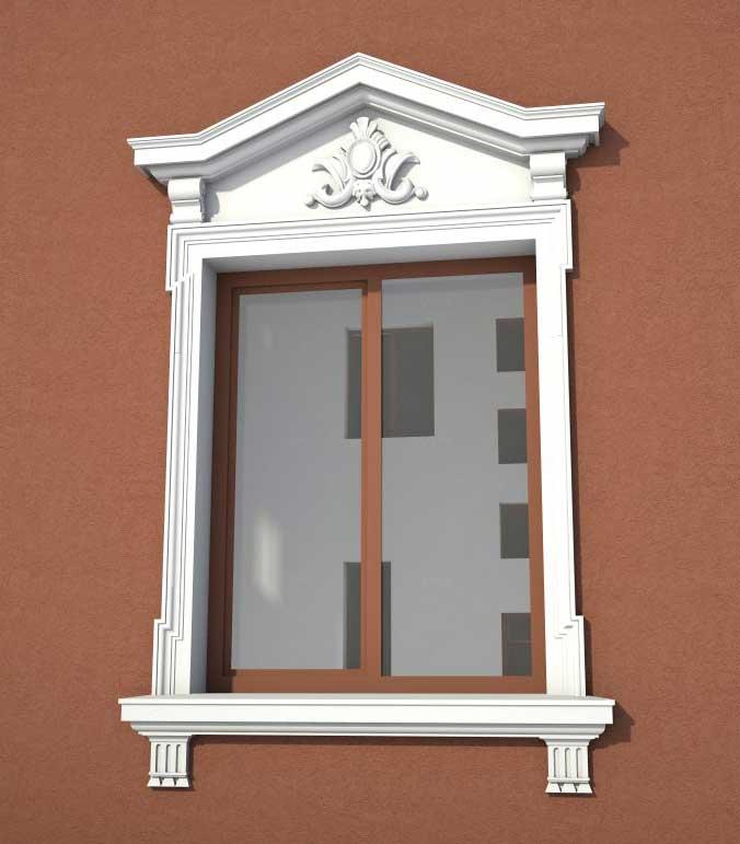 exterior window trim ideas