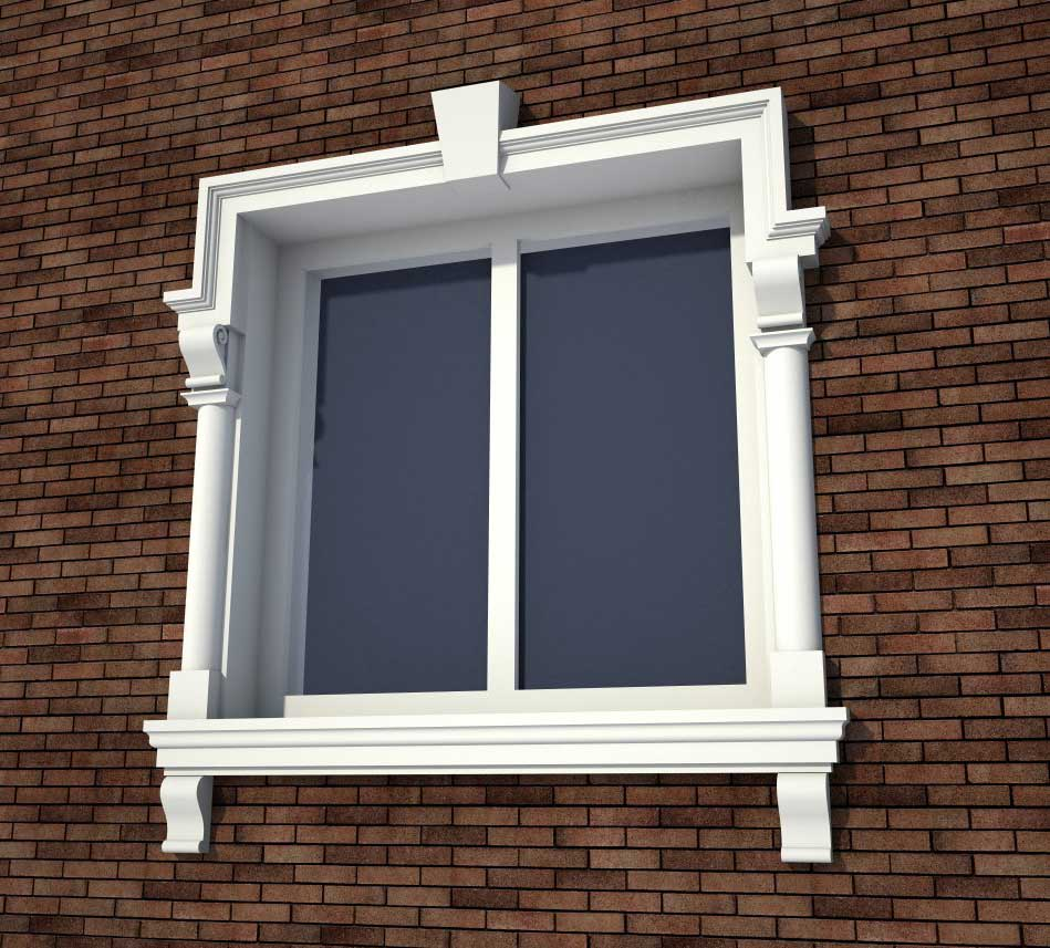 casing around windows